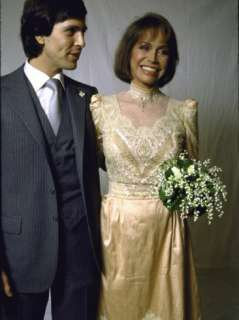 Dr. Robert Levine and Wife, Actress Mary Tyler Moore on their Wedding