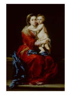 the Rosary Giclee Print by Bartolome Esteban Murillo at AllPosters