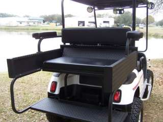 Club Car DS Golf Cart Rear Seat / Cargo Box Combo
