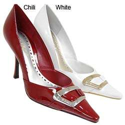 BCBGirls Womens Patent Leather Stiletto Heels
