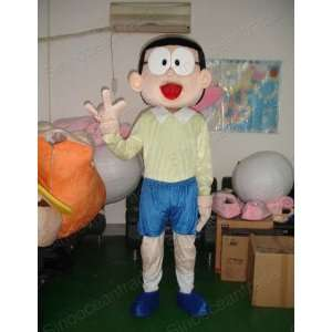 Nobi Nobita Doraemon Boy Mascot Costume Fancy Dress EPE