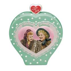 Love Lucy Forever Friends Ceramic Cookie Jar