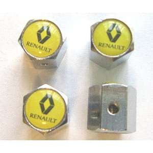 Renault Anti theft Car Wheel Tire Valve Stem Caps