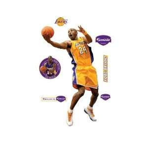 Fathead Kobe Bryant Los Angeles Lakers Wall Decal  Sports