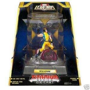 Hasbro Titanium Series WOLVERINE Marvel Legends X Mens