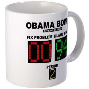 Obama Bowl Anti obama Mug by