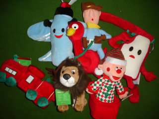 LARGE Misfit Doll Collection RUDOLPH Red Nosed Reindeer & Friends L@@K