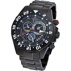 Mens Nautico Dual Time Zone Swiss Quartz Watch