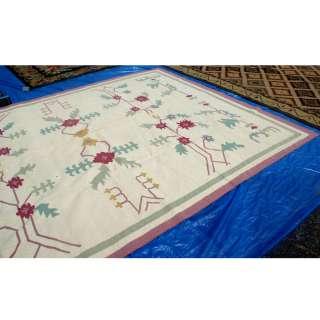 12 Caucasian Kilim Moldova Hand Knotted Wool Rug