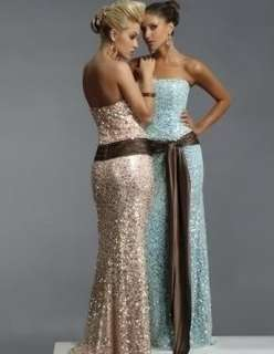 Evening prom dress gown bridesmaid custom size 6 8 10 12 14 16 18 38