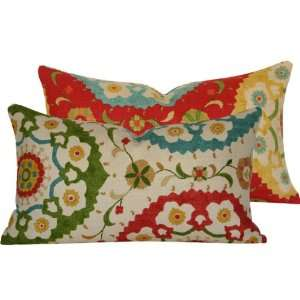 Boho Fiesta Large Lumbar Pillow: Home & Kitchen