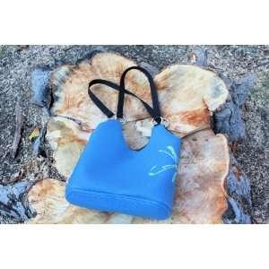 EXactly Blue Purse/Laptop Bag