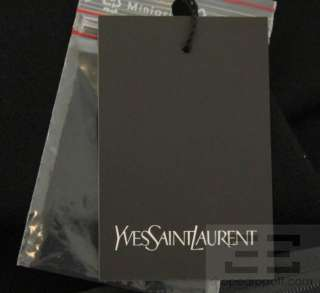 YSL Yves Saint Laurent Black Wool Short Sleeve Raw Seam Dress Size F38