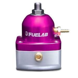 Fuelab 51501 4 Universal Purple EFI Adjustable Fuel Pressure Regulator
