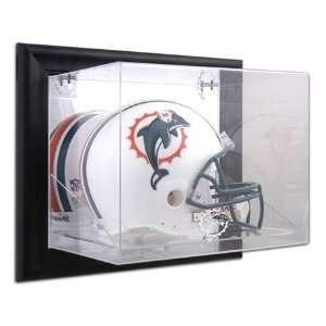 Memories Black Framed NFL Team Logo Wall Mounted Helmet Display Case