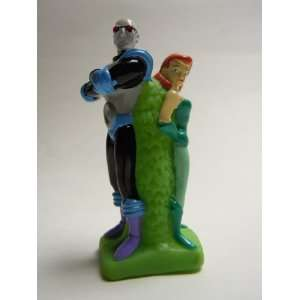 Batman Novelty Plastic Figurine   Poison Ivy & Mr. Freeze 3.5 Inches