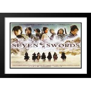 com Seven Swords 32x45 Framed and Double Matted Movie Poster   Style