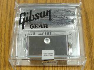 NEW Gibson Tony Iommi Humbucker PICKUP Chrome Guitar USA