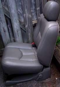 CHEVY TRUCK SUBURBAN 2ND ROW LEATHER BUCKET SEATS YUKON