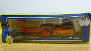 AHM HO Scale 2 4 0 Bowker Locomotive K.C. ST. L & C