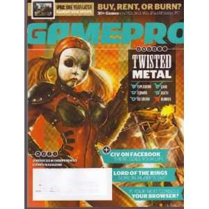 GAMEPRO Magazine # 271 (4/11) Sweet! Twisted Metal Staff