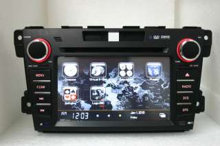 07 08 09 10 2011 MAZDA CX7 CX 7 DVD GPS NAVIGATION RADIO IPOD CD