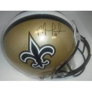 New Orleans Saints Mark Ingram Hand Signed Autographed Football