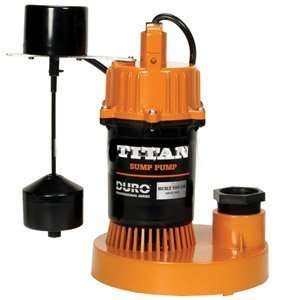 Titan Basement Submersible Sump Pump 1/2 HP   Vertical