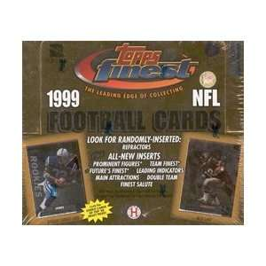 1999 Topps Finest NFL Football Sports Trading Cards Hobby