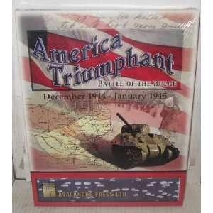 America Triumphant Battle of the Bulge December 1944   January 1945