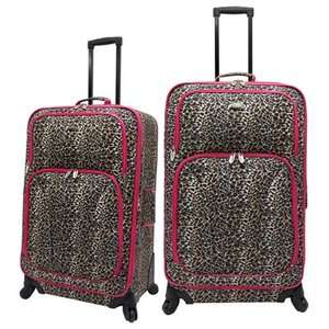 U.S. Traveler Fashion 2 Piece Spinner Luggage Set Luggage