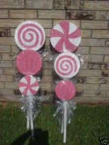 Little Princess / Candyland Birthday Lollipops Party