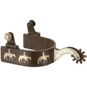 Silver Star Three Western Pleasure Horses Spurs
