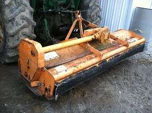 ALAMO FLAIL MOWER 3 POINT 77 WORKS GOOD READY TO GO 540 PTO