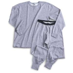 Medalist Merino Wool   Blend Crew Tops Heather Gray
