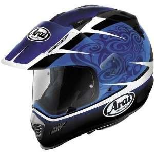 Arai XD 3 Dual Sport Motorcycle Helmet Bosch Blue