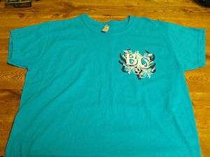 Ladies Blue Bone Collector T Shirt LARGE