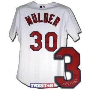 Mark Mulder St. Louis Cardinals Autographed Authentic