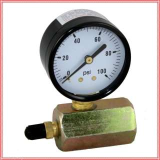 100 PSI Gas / Air Test Gauge Pressure 3/4 FPT Body