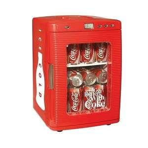 Coca Cola Coke Small Mini Fridge Refrigerator Car Boat