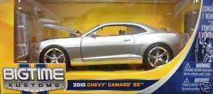 2010 CHEVY CAMARO SS DIECAST JADA 1/24 SILVER 92488