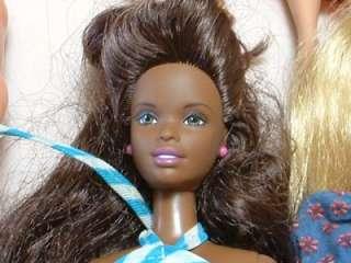 New Mattel Barbie Doll Lot 23 Dolls, Clothes, Shoes, Phone~ 60s/70s