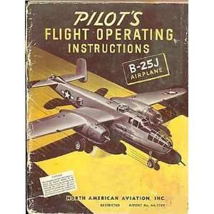 North American Aviation B 25 J Aircraft Flight Manual