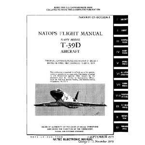 North American Aviation T 39 D Aircraft Flight Manual