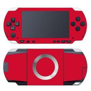 Solid State Red Design Decorative Protector Skin Decal