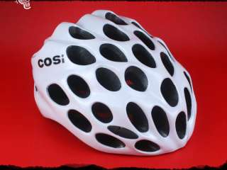 M75 NEW ADULT WHITE BIKE BICYCLE HELMET sz L