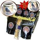 3dRose LLC Birds   African Grey Parrot   Coffee Gift Baskets