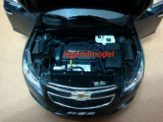 18 Chevrolet CRUZE 2010 Die Cast Model dark grey