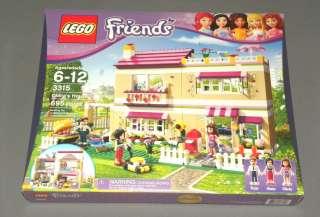 NEW Girls LEGO Friends Set 3315 Olivias House w Mom Anna & Dad Peter