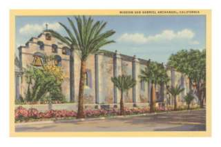 Mission San Gabriel Archangel, California Posters at AllPosters